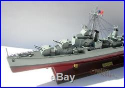 USS Gearing (DD-710) Class Destroyer Handcrafted War Ship Ready Display Model