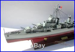 USS Gearing (DD-710) Class Destroyers Handcrafted War Ship Display Model NEW