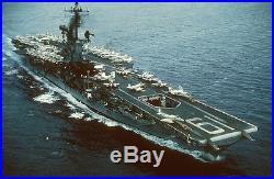 USS HANCOCK CV-19 CVA CVS US NAVY HAT PIN ESSEX CLASS CARRIER VIETNAM WOW