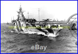 USS Hancock CV-19 9X12 Photo Navy USN Aircraft Carrier 9x12 Military CVN