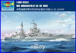 USS INDIANAPOLIS CA-35 1945 1/350 ship Trumpeter model kit 05326