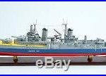 USS Indianapolis CL/CA-35 Porland-Class Cruiser Wooden Ship Model Scale 1200