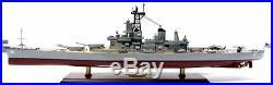 USS Iowa (BB-61) Iowa-Class Battleship Collectible 39Handmade Wood Model Ship