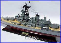 USS Iowa (BB-61) Iowa-class battleship Handmade Wooden Ship Model 39