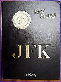 USS JOHN F. KENNEDY CV-67 Cruisebook issued on her Ten Years Service (1978)