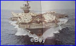 USS JOHN F. KENNEDY CVA-67 Cruisebook of their 1978 Mediterranean Tour