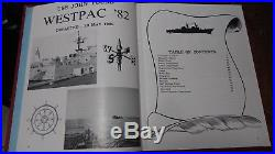 USS JOHN YOUNG, DD 973 Cruisebook 1982 WESTPAC Westpac