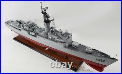 USS Knox Class Destroyer Handcrafted War Ship Model