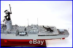 USS Knox FF-1052 Destroyer Escort Battleship 36 Wood Model Ship Nautical decor