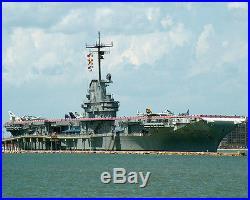 USS LEXINGTON CV-16 U. S. UNITED STATES NAVY AIRCRAFT CARRIER PHOTO