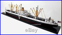 USS Liberty Waterline Ship Model 33 Handcrafted Wooden Ship Model NEW