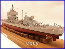 USS Long Beach CGN-9 Pro built 1/350 FREE SHIPPING
