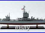 USS Long Beach Long Beach-class Cruiser CGN-9 Wooden Ship Model 34 Scale 1250