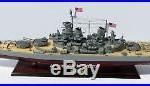 USS MISSOURI BB63 Battleship Model 40 Handcrafted Wooden Model NEW