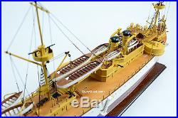 USS Maine ACR-1 US Navy Armored Cruiser Wooden Battleship Model 39