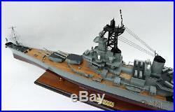 USS Missouri (BB-63) 1990 Handcrafted War Ship Display Model 39