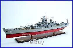 USS Missouri BB-63 Big Mo Iowa-class Wooden Battleship Model 43 Scale 1250