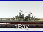 USS Missouri BB-63 Mighty Mo Big Mo Iowa-class Wooden Battleship Model 40