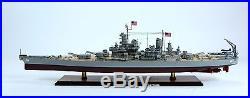 USS Missouri BB-63 Mighty Mo Iowa-class Battleship Model 39 Scale 1250