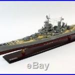 USS Missouri BB-63 Mighty Mo Iowa-class Wooden Ship Model 40