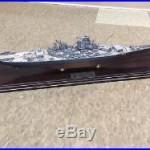USS Missouri Desk Top Battleship Model By Danbury Mint