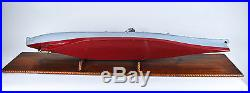 USS Missouri WWII Wood Ship Model Very Large 56 Inches