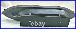 USS Monitor 1862 American Civil War, shelf, display resin model iron clad