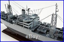 USS Muliphen AKA-61 Cargo Ship Model 34