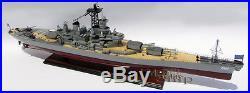 USS NEW JERSEY(BB-622) Iowa Class - Handcrafted War Ship Display Model NEW