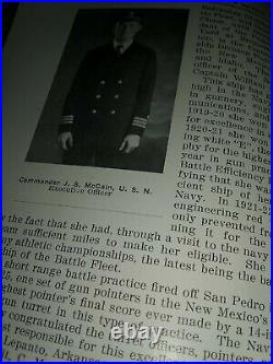 USS NEW MEXICO Battleship BB-40 1926 Navy Day Booklet Souvenir Commemorative