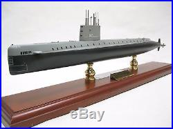 USS Nautilus SSN 571 Signed By Eugene Wilkinson Desk Display Submarine USN Model