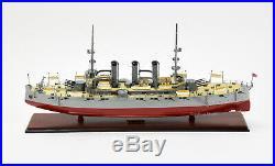 USS Nebraska Handcrafted Wooden Battleship Model 32