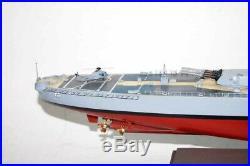 USS New Jersey (BB-62) Battleship Model