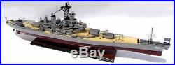USS New Jersey (BB-62) Iowa-Class Battleship Collectible 39Handmade Wood Model