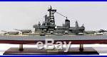 USS New Jersey Iowa-Class Battleship Assembled 39 Built Wooden Model War Ship