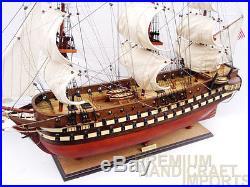 USS North Carolina Model Ship 37 Ready For Display