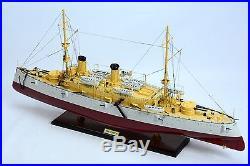USS Olympia C-6 Protected Cruiser 36 Handmade Wooden Warship Model NEW