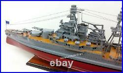 USS Pennsylvania (BB-38) Battleships Model 35 Museum Quality Model Scale 1205