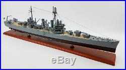USS Philadelphia (CL-41) Battle Ship Model Scale 1180