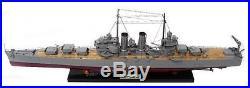 USS Phoenix Battleship Model 40 Handcrafted Wooden Warship Model