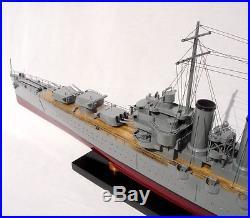 USS Phoenix CL- 46 Brooklyn-class Cruiser Handmade Wooden Warship Model