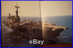 USS SARATOGA CV-60 Cruisebook of their 1984 Mediterranean Tour