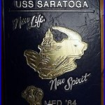 USS SARATOGA CV-60 MED DEPLOYMENT of 1984