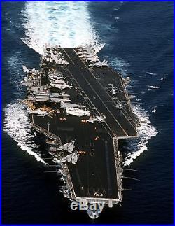USS SARATOGA CV-60 U. S. NAVY AIRCRAFT CARRIER PHOTO