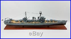 USS Savannah (CL-42) Battle Ship Model Scale 1180