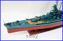USS South Dakota (BB-57) Battle Ship Model Scale 1200