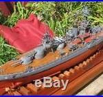 USS TEXAS BATTLESHIP MODEL1933 by SHIPWRIGHT CHARLES HINCKLEY btwn WWI & WWII