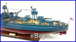 USS TEXAS (BB-35) Battleship Wooden Ship Model Scale 1200