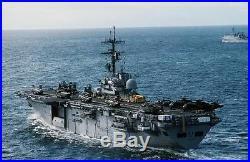 USS Tripoli LPH-10 US NAVY HAT PIN PILOT MARINES Amphibious Assault Ship