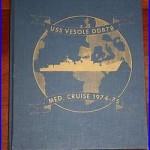 USS VESOLE (DD-878) Med. Cruise Book 1974-75